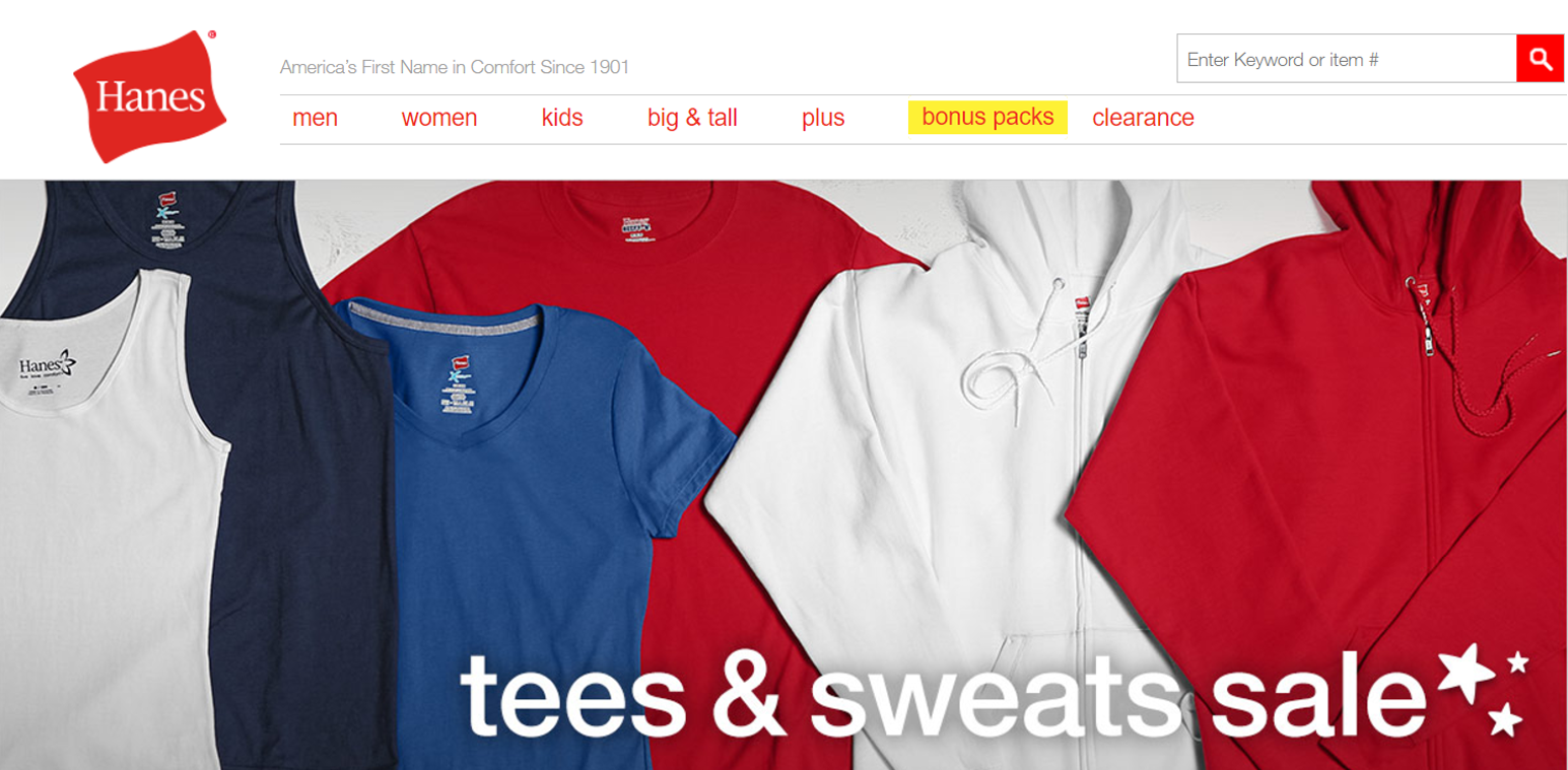 Hanes-products