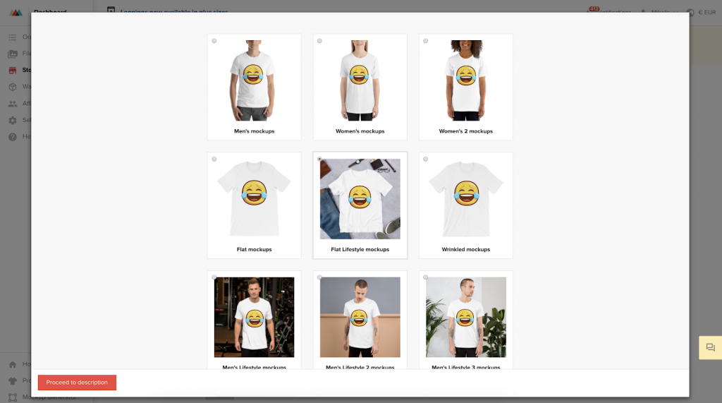 Printful_Mockup_Choices
