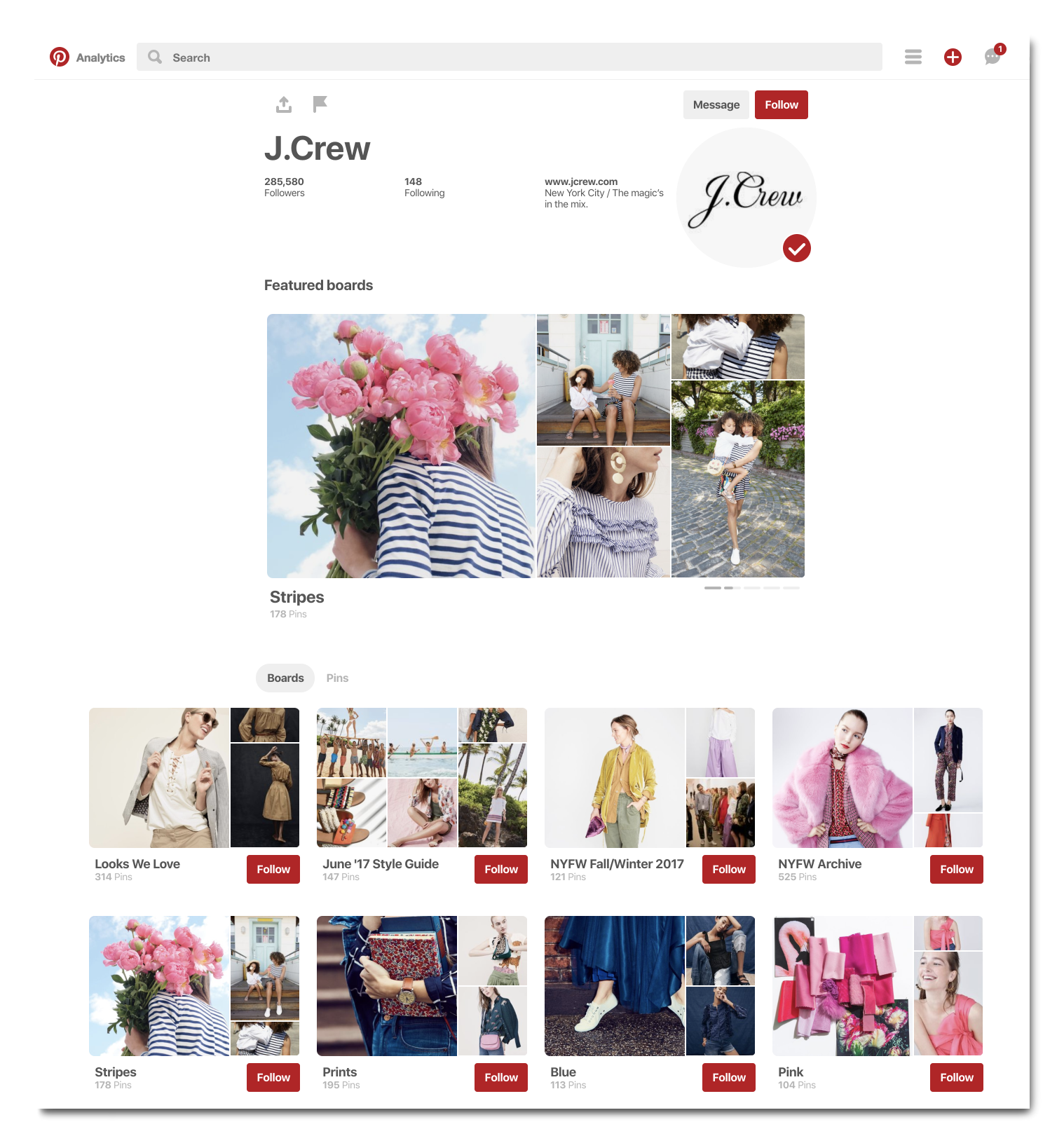 Jcrew-pinterest-profile