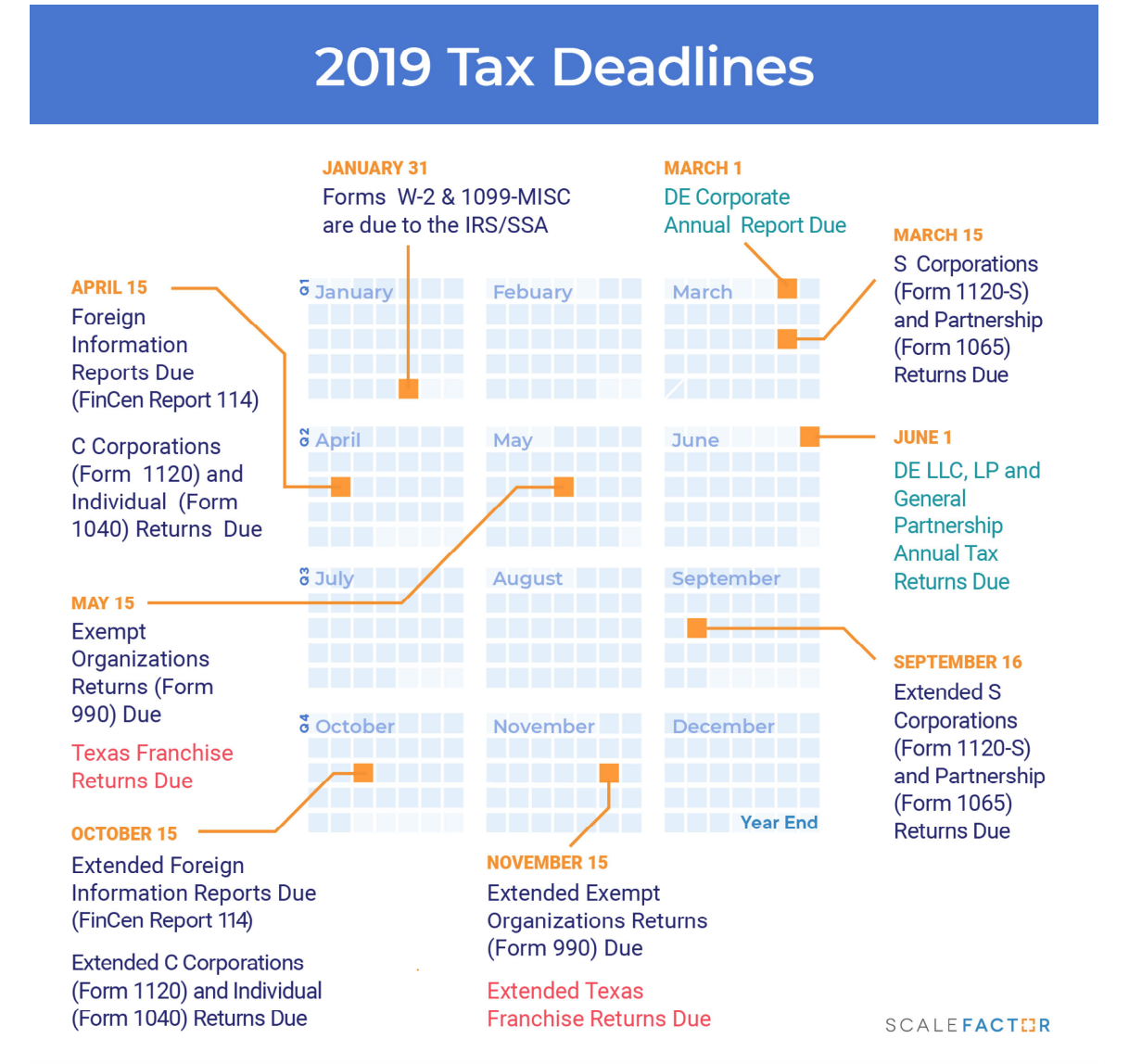 2019-tax-deadlines