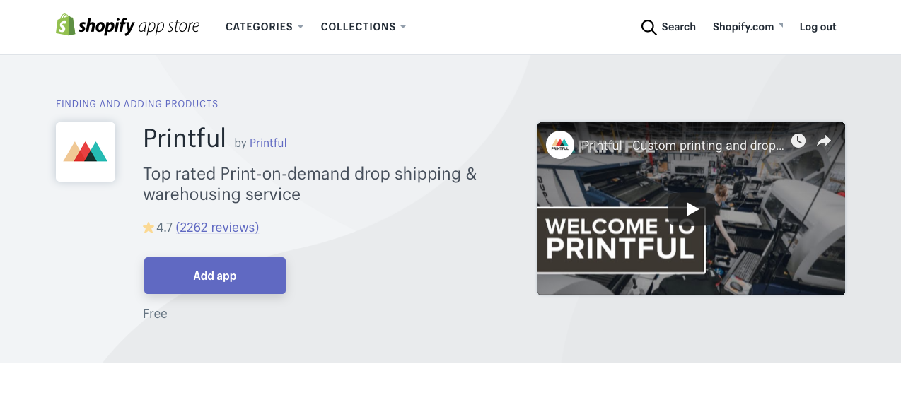Connecting Your Shopify Store to Printful in 4 Simple Steps