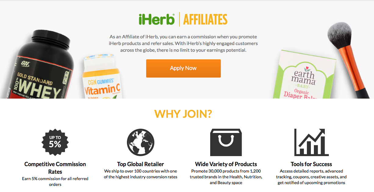 iherb_affiliate_program