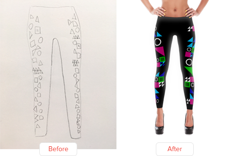 Leggings designers for hire