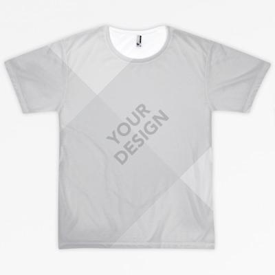 All-over shirt mockups