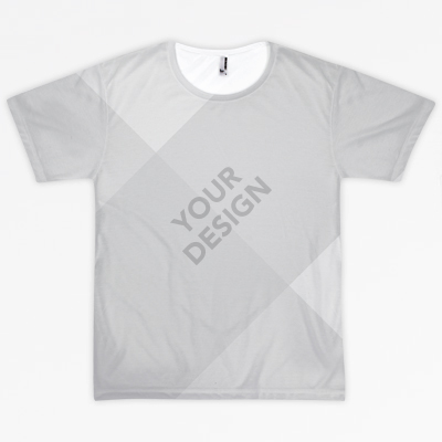 All-over shirt mockups