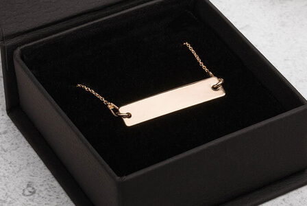 make your own silver necklace